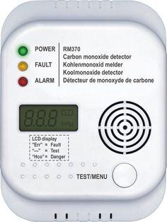 Smartwares RM370 - Koolmonoxide melder - 7 jarige sensor €20