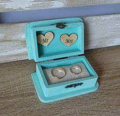 Wedding Ring Bearer Box Wedding Ring Box by FivetteWeddingStyle