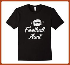 Mens Football Aunt Shirt, Cute Funny Player Fan Gift 2XL Black - Sports shirts (*Partner-Link)