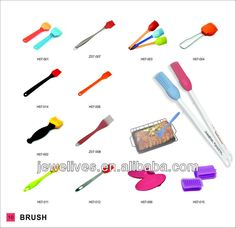 heat resistant BBQ oil brush/silicone brush