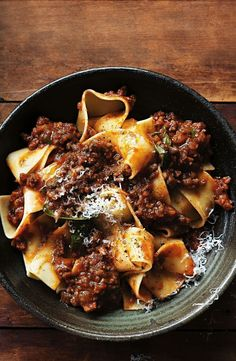 Add loads of herbs and beef stock for a really robust sauce. Your weekend pasta bolognaise has never tasted so good! Gourmet Recipes, Pasta Recipes, Beef Recipes, Dinner Recipes, Cooking Recipes, Healthy Recipes, Dinner Ideas, Easy Cooking, Cooking Chef