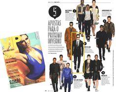 Look alfaiataria na Revista VIP