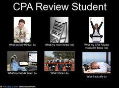 CPA Exam Student Meme