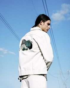 >> 6 P M << for @altairzine feat @matthewdevlin in @handsom 🔹 styled by @__s____o