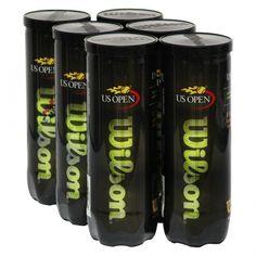Mini Pack Bola de Tênis Wilson Us Open Com 6 Tubos