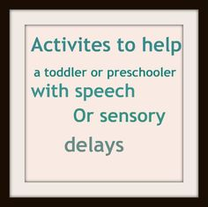 Helping a toddler with a speech delay (simple activity ideas to do at home!)