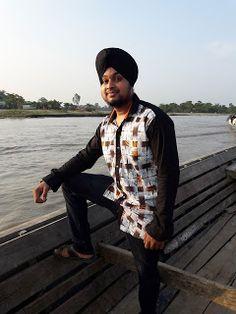 Charanpal Singh At Brahmaputra River