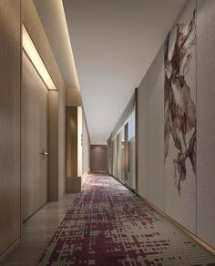Catalogue Find the best and most luxurious inspiration for your next lobby or reception interior design project here. For more visit Find the best and most luxurious inspiration for your next lobby or reception interior design project here. Hall Hotel, Hotel Hallway, Hotel Corridor, Hotel Lobby, Lobby Design, Corredor Do Hotel, Corridor Lighting, Elevator Lobby, Flur Design