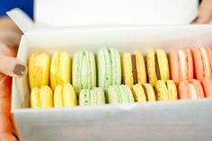 French Macarons from The Sweet Lobby in DC