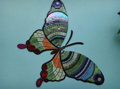 mosaico de borboleta