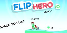 Io Revolutionary Hero is a delightful IO game created by KasSanity. In it, you will compete with other players as you move from level to level and see what cool flips you can do!