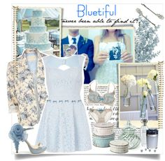 """Bluetiful"" by zuneperry22 ❤ liked on Polyvore"