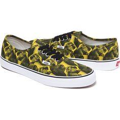 dac4feb8502 Supreme x Vans 2013 Fall Winter Bruce Lee Collection · 靴 スニーカー黄色の靴Vans  オーセンティック ...