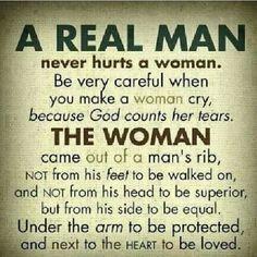 How men should treat women