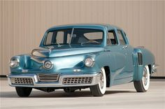 $2,915,000 The 1948 Tucker sedan was an advanced automobile conceived by Preston Tucker and briefly produced in Chicago in '48. Only 51 examples were made. This example is professionally and correctly restored to show specifications. From the Ron Pratte Collection.