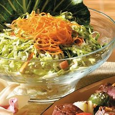 Honey Mustard Slaw