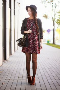 ♥ patterned dress