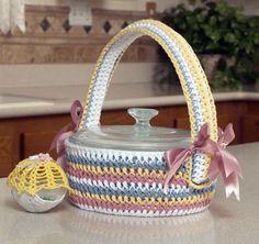Easter Basket Casserole Cover