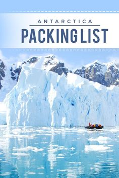 Don't come unprepared to the White Continent � read this detailed Antarctica cruise packing list showing all essential clothing and gear that you need to bring without overpacking! via https://iAmAileen.com/antarctica-cruise-packing-list-essentials-clothi
