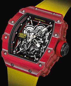 Richard Mille RM 35-02 Rafael Nadal Watch. Price: $135,000 #RichardMille #nadal #LuxuryWatch #BusinessWatch #HYTWatches #GoldWatches #Jewelry #LimitedEdition #LimitedEditions #Watch #Watches #luxurylifestyle #lifestyle #life #billionaire #millionaire #rich #luxurylife #business #couples #exclusive #gold #money #travelblog #awesome #inspire #life #photooftheday #inspire #inspirational #amazing