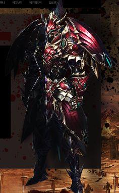 Dekaron - Azure Knight Set