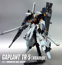 GUNDAM GUY: HG 1/144 Gaplant TR-5 [HRAIROO] - Customized Build