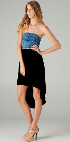 Black High Low Dress | Elusive Cowgirl - Western Wear, Cowgirl Clothing, Cowgirl Sunglasses