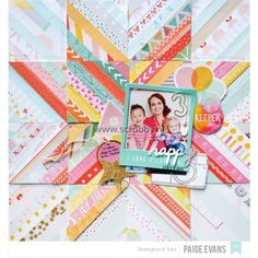American Crafts Dear Lizzy Fine & Dandy Paper Pad 12x12 - The number 1 in scrapbooking, art journal and mixed media