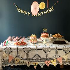 Cake table, first birthday