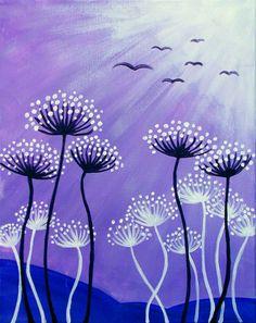 flowers Spring Art, Summer Art, Mosaic Art Projects, World Crafts, Art Programs, Canvas Art, Watercolor Canvas, Art Plastique, Op Art