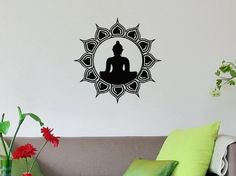 Lotus Flower Buddha Sacred Indian Nelumbo Nucifera Buddhist Symbol Buddhism Sign Wall Vinyl Decal Art Sticker Home Modern Stylish Interior Decor for Any Room Smooth and Flat Surfaces Housewares Murals Graphic Bedroom Living Room (2009) stickergraphics http://www.amazon.com/dp/B00IBZWMUM/ref=cm_sw_r_pi_dp_XvDTtb1SKM8Q9ATF