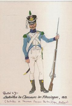French; Bat. de Chasseurs de Flessingue 1812