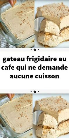 gateau-frigidaire-au-cafe-qui-ne-demande-aucune-cuisson/ delivers online tools that help you to stay in control of your personal information and protect your online privacy. Desserts Rafraîchissants, Banana Dessert Recipes, Mini Cheesecake Recipes, Brownie Recipes, Raw Food Recipes, Easy Recipes, Gentilly Cake Recipe, Rumchata Recipes, Dessert Parfait