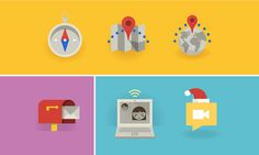 Flat Icons and Web Elements For UI Design)-32