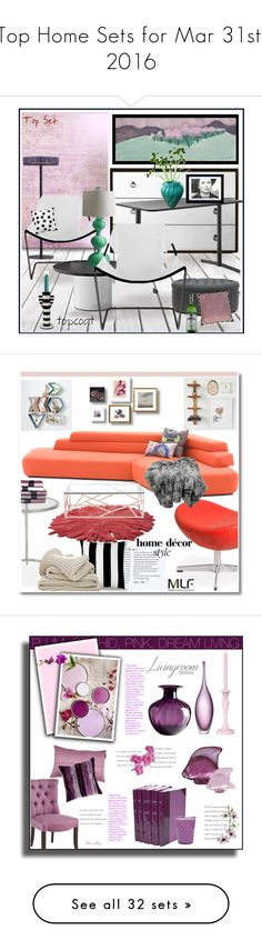 """""""Top Home Sets for Mar 31st, 2016"""" by polyvore ❤ liked on Polyvore featuring interior, interiors, interior design, home, home decor, interior decorating, Objekto, B&B Italia, CB2 and Baxton Studio"""
