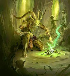 Forest shaman