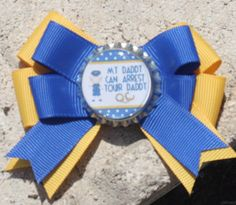 Police Officer Police Officer hair bow Bow for Police by bowsforme, $6.00