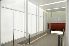 Light + Design - 50 George Street. Reception Corridor