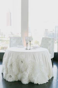 floral linen | Our Labor of Love #wedding