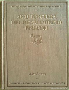 ARQUITECTURA DEL RENACIMIENTO ITALIANO Y ARQUITECTURA DEL RENACIMIENTO ESPAÑOL…