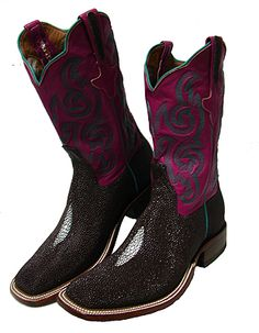 """Rios of Mercedes """"Barbie"""" Cowboy Boots"""