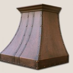 Signature Copper Range Hood by World CopperSmith.