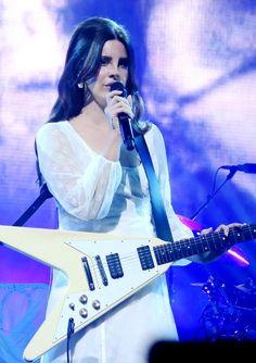 Lana Del Rey performing at Montreux Jazz Festival in Switzerland #LDR