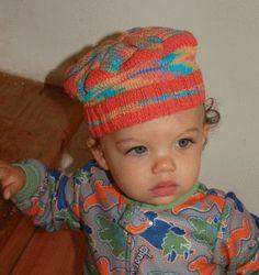 Panda Cotton Baby Hat - Crystal Palace Yarns - free knit baby hat pattern