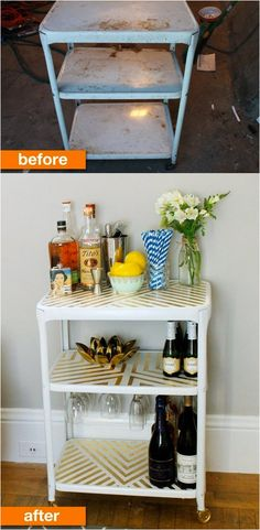 A forgotten, rusty cart becomes cute and cherished - Apartment Therapy