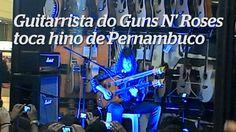 Que sou bairrista não é segredo aos amigos, mas com esta eu CHOREI!!!!!!!!!!!! Meu PERNAMBUCO é mais que IMORTAAAAAAAAAAL!!!!!!!!!!! Esse hino é muito LINDO, LINDO, LINDOOOOOOOOOOOO... Ron Bumblefoot - guitarrista do Guns N' Roses - tocou esse trecho do hino de Pernambuco em um workshop com fãs hoje 15 de abril de 2014, obrigada meu querido. É PERNAMBUCO encantando o mundo!!!!! Apesar de tudo eu AMO o meu Pernambuco imortal!!!!!!!!!