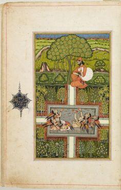 Philadelphia Museum of Art - Collections : South Asian Art Llama Violeta, Persian Garden, Mughal Paintings, Oriental, Indian Folk Art, Philadelphia Museum Of Art, Sufi, Illuminated Manuscript, Art Museum
