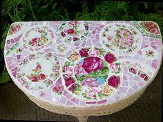 mosaic table inspiration.