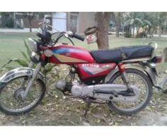 Pak Hero Bike Red color Genuine Engine Model 2005 For Sale In Lahore