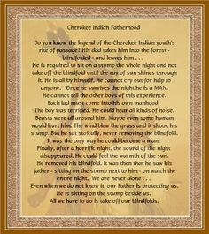 cherokee indian pictures and quotes   Cherokee Indian Fatherhood Image   Cherokee Indian Fatherhood Picture ...